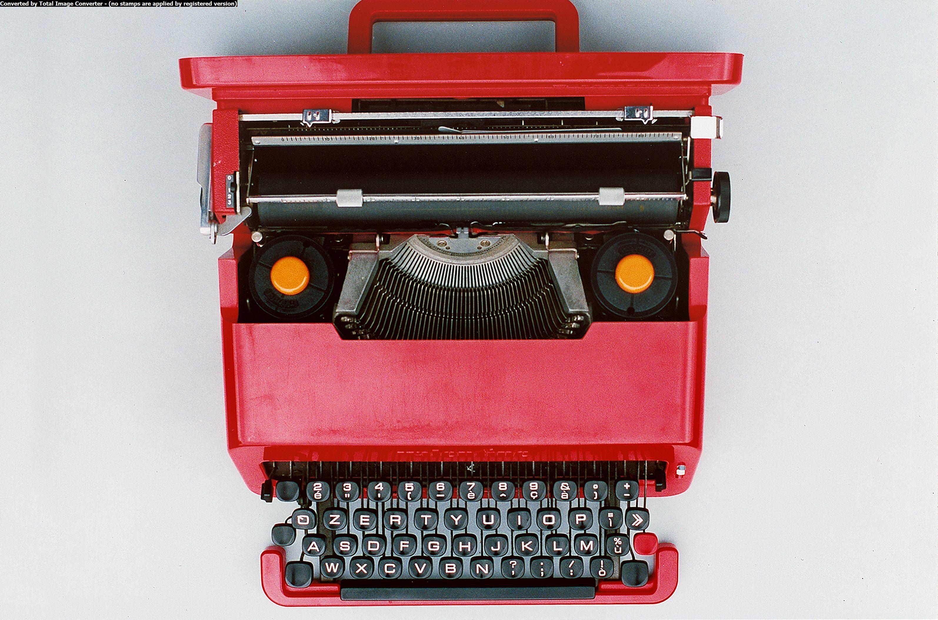 macchina da scrivere il più bel regalo di compleanno