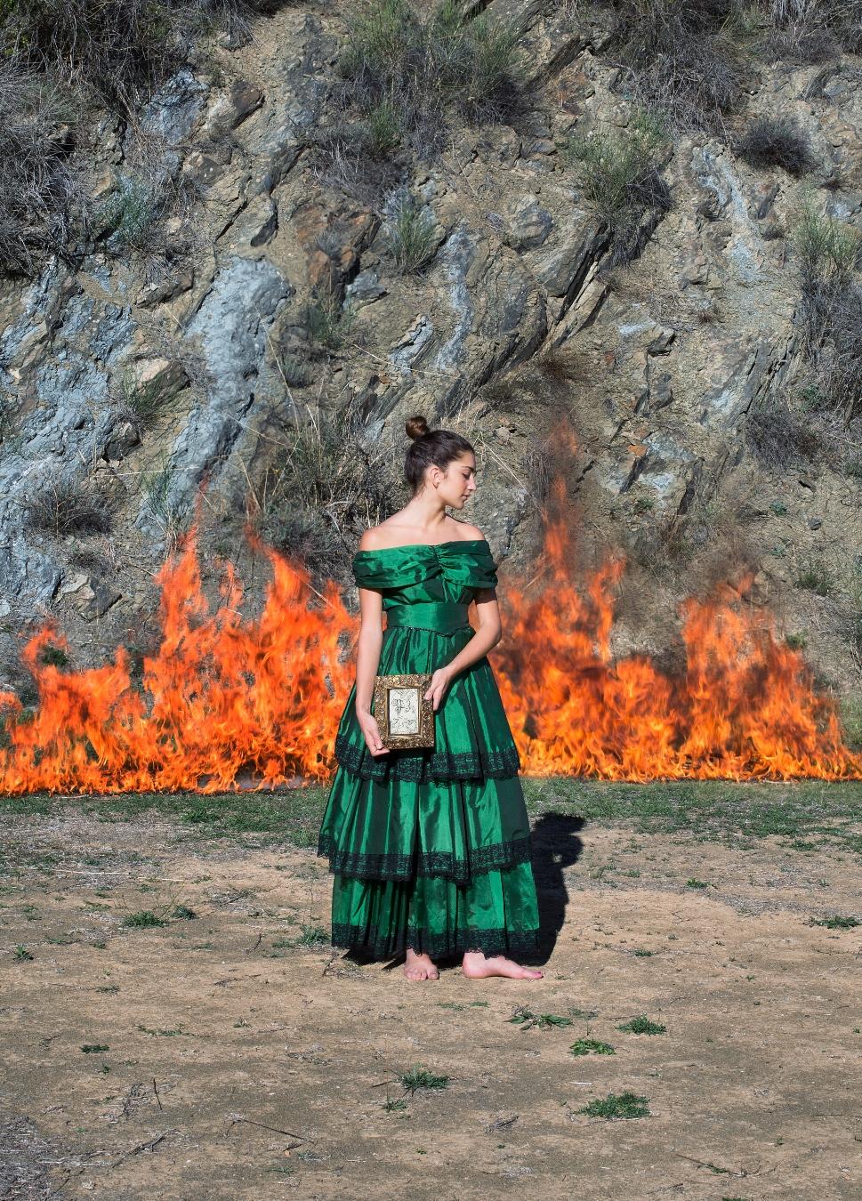 Quando infuocata come sono rimango e amata dal fuoco (Ingeborg Bachmann)