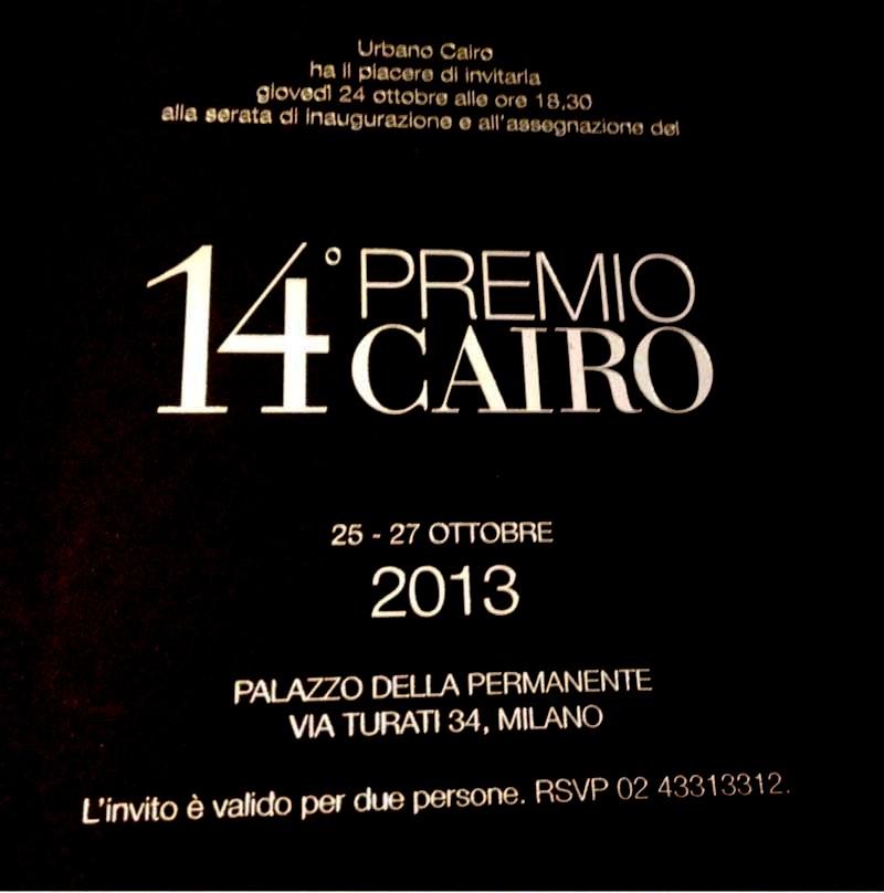14° PREMIO CAIRO