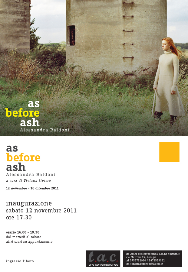 AS BEFORE ASH – Come prima della cenere