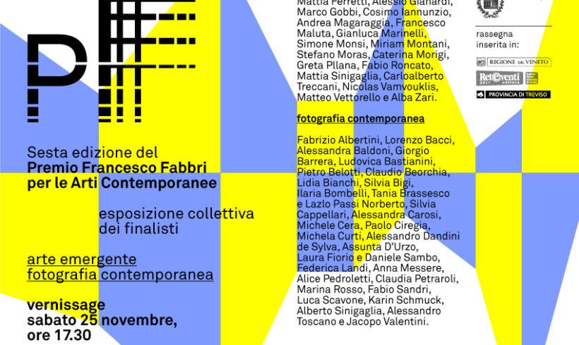 Sesta edizione del premio Francesco Fabbri per le Arti Contemporanee